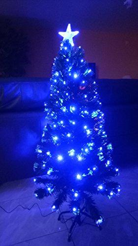 Cadeaux creation Sapin Fibre Optique LED Bleue