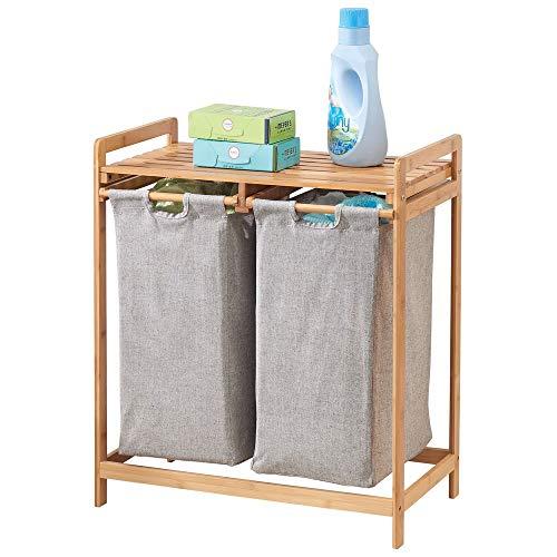 MDesign Estantería baño cestas Colada - 2 Sacos