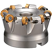 Kyocera mrw3000r166t Radius Fräser, Stahl, 7,6cm Schneiden Durchmesser, 0,8cm Max Schnitttiefe