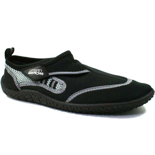 Reed Aqua Schuh/Wasser/Beach Herren Socke Größen 6–11 Schwarz - Black/ Grey