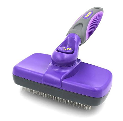 Best-Quality-Self-Cleaning-Slicker-Brush-Gently-Removes-Loose-Undercoat-Mats-and-Tangled-Hair-Your-Dog-or-Cat-Will-Love-Being-Brushed-with-the-Hertzko-Grooming-Brush