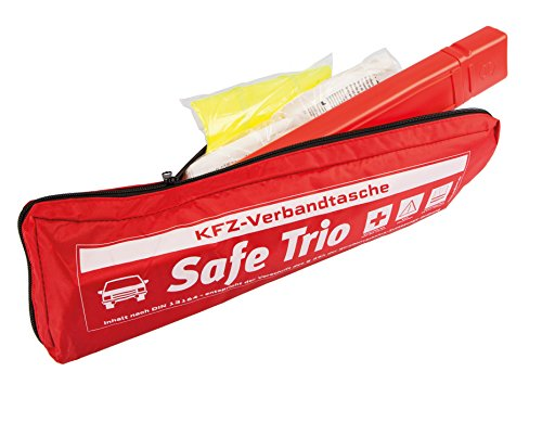 KFZ Verbandstasche SAFE TRIO Inhalt nach DIN 13164