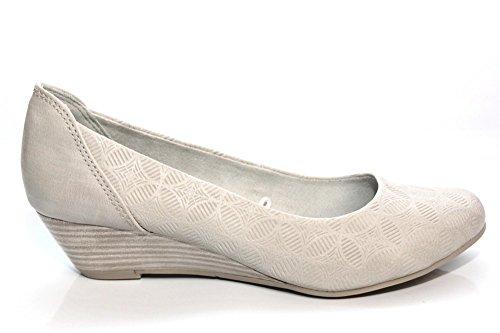 Pompes dames Marco Tozzi 2-22303-26-296 gris antique Gris - Gris