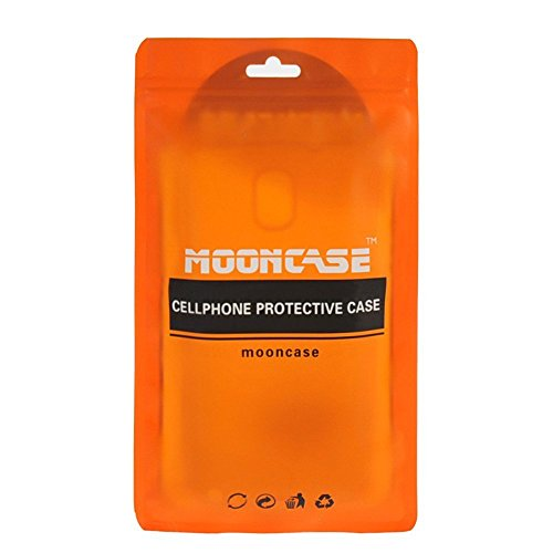 MOONCASE IPhone 6 / 6S Étui, Double Couche Hybride Soft TPU Intérieur + Anti-Dérapant Coque PC Robuste Anti-Scratch Antichoc Housse Etui de Protection Case pour iPhone 6 / 6S (4.7 inch) Argenté Noir