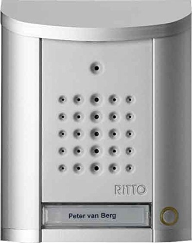 RITTO 1840120 ENTRAVOX TUERSTATION PLATA 1WE