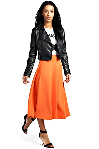 Orange Arianna Schlichter Teller-midirock Orange