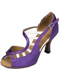 Meijili - plataforma mujer , color Morado, talla 35.5
