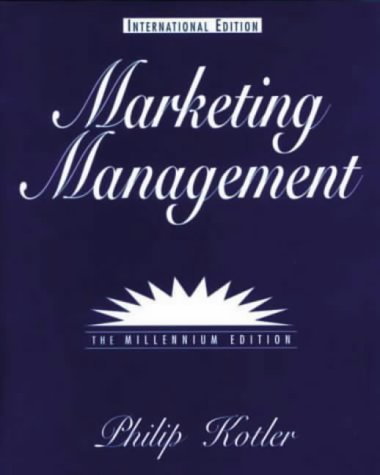 Marketing Management (International Students) by Philip T. Kotler (1999-07-01)