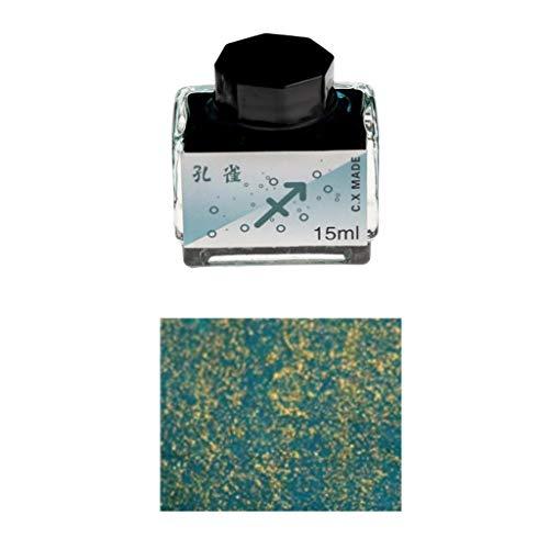 Exing Springtinte 15 ml Tinte für Dip Pen Kalligraphie Schreibfarbe Graffiti Tinte Schulbedarf 7# -