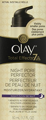 Olay Total Effects Night Pore Perfector Moisturizer, 1.7 Fluid Ounce, (Pack o... by Olay