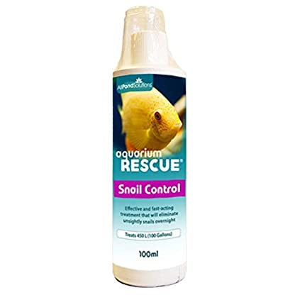 All Pond Solutions Aquarium Rescue Snail Control, 100 ml 1