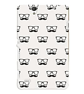 Sony Xperia C4 MULTICOLOR PRINTED BACK COVER FROM GADGET LOOKS