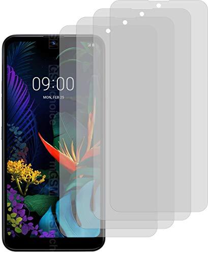 4X ANTIREFLEX matt Schutzfolie für LG K50 Displayschutzfolie Bildschirmschutzfolie Schutzhülle Displayschutz Displayfolie Folie