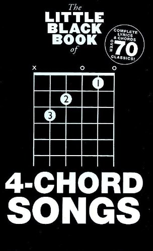 Little Black Book of 4-Chord Songs: 1