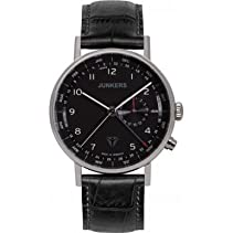 Junkers Herren-Armbanduhr Analog Quarz Leder 67342