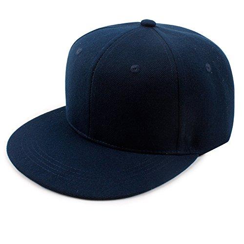 Baseball Cap Baumwolle Flachen breitkrempigen Hut Farbe einstellbar, eine Größe, 6# (Wildleder Hut Newsboy)