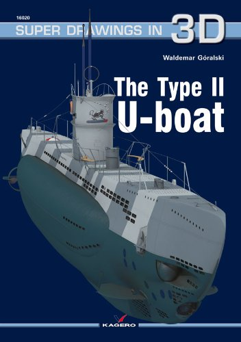 The Type II U-Boat (Super Drawings in 3D) por Waldemar Goralski