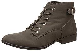 Call It Spring Womens Gitana Khaki Boots - 7 UK/India (40 EU) (9US)