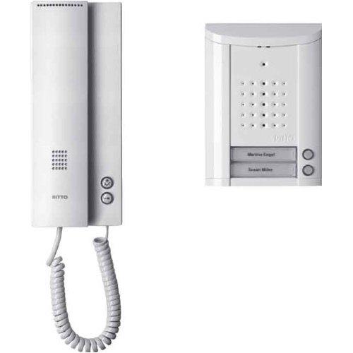 Ritto 1841270 Entravox Audio-Komplettpaket 2WE weiss