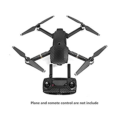 Hensych® Carbon Fiber Stickers Waterproof Full Protective Decal Wrap Skin Protector Cover Set Decal for DJI Mavic Pro Body /Controller /Battery