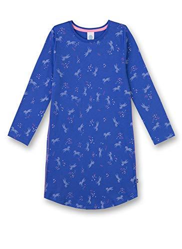 Sanetta Mädchen Sleepshirt Nachthemd, Blau (Cornflower Blue 5357), 140 -