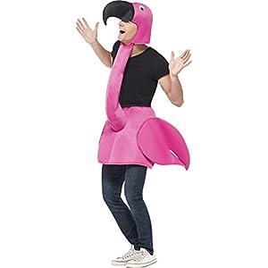 Smiffys-Disfraz-flamenco-rosa-para-adulto-Talla-nica