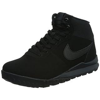 Nike Hoodland Suede Herren Desert Boots, Black (Black (Schwarz / Schwarz-Anthrazit)), 45 EU