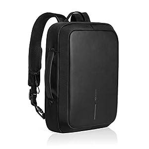 seguro de robo: XD Design Bobby Bizz Mochila y Maletín Anti-Robo Portátil con USB (Bolsa Negro)