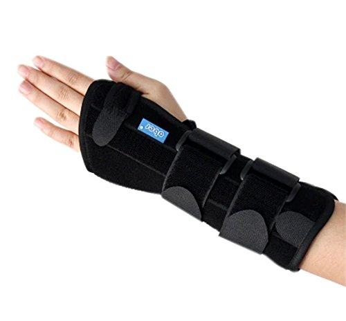 Blessures Support de poignet gauche promouvoir la circulation sanguine et guérison Petit, Noir