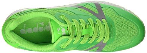 Diadora N9000 Mm Bright, Pompes à plateforme plate mixte adulte Vert - Verde (97002 Verde Fluo)