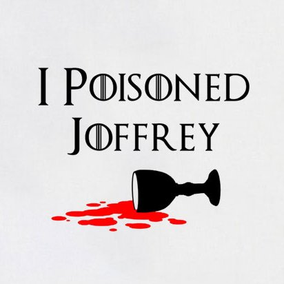 TEXLAB - GoT: I poisoned Joffrey - Herren T-Shirt Navy