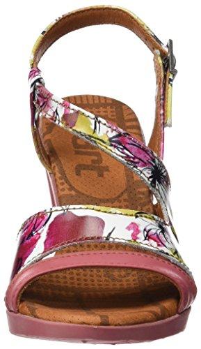 ART 0293 Fantasy Rio, Sandali con Cinturino alla Caviglia Donna Multicolore (Flowers)