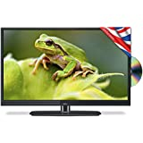 Cello C22230F 22-inch Widescreen Full HD 1080p LED DVD Combi Slim Digital TV with Freeview