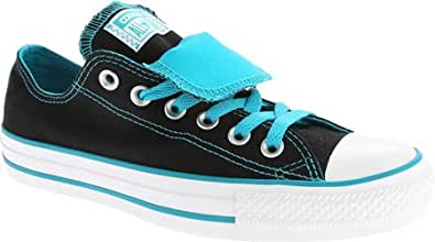 d35bc2481cf1 Image Unavailable. Image not available for. Colour  Converse Chuck Taylor  All Star Double Tongue Womens Ox Shoes ...