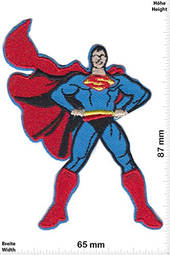 Patch - Supermann - Stand - Cartoon - Superman - Aufnäher - zum aufbügeln - Iron On (Superman Iron On Patch)