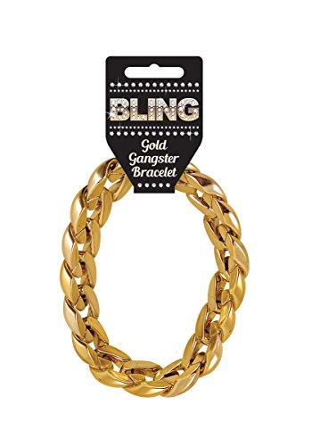 d Gold Gangster 31cm Pimp Rapper Hip Hop Fancy Kleid (Hip-hop-kostüme Für Jungen)