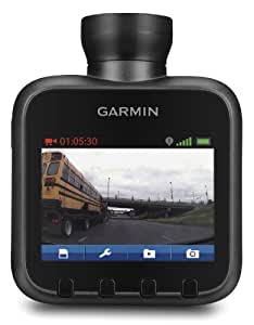Garmin Dash Cam 20 HD-Kamera (5,8 cm (2,3 Zoll) LCD-Display, 30 fps, GPS, micro-SD Kartenslot)