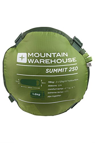 Mountain Warehouse - Fibra hueca, Para otoño e invierno, Tª confort límite:...