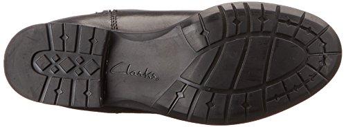 Clarks Plaza Markt Reitstiefel Black Leather