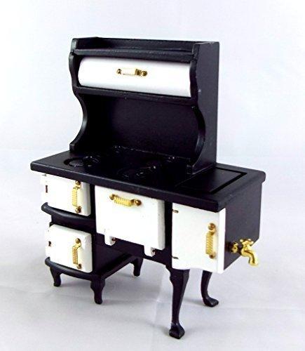 Preisvergleich Produktbild Puppenhaus Miniatur Küchenmöbel Pennsylvanian Dutch Oven Ofen Ofen