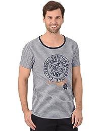 Trigema T-shirt rayé surf