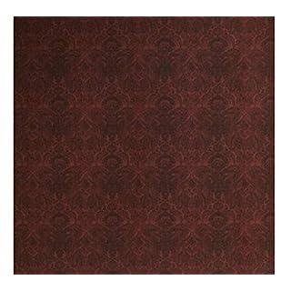 Andrew Martin International - Wallpaper/Wallcoverings - Kew Red Wallpaper