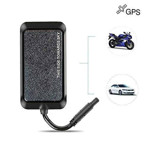 Localizador GPS,JPSTKER Impermeable Tiempo Real Anti-Robo GPS Tracker para Automóviles,Combustible de Corte...