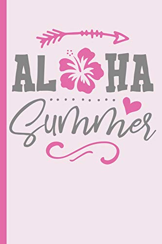 Hibiscus Flower Hair (Aloha Summer with Hibiscus Flower : College Ruled Notebook)