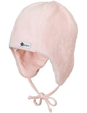 Sterntaler Mütze mit Ohrenklappen und Bindebändern
