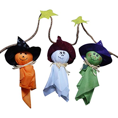 ween Bunting Dekorationen Halloween Geister Wandbehang Home Decor ()