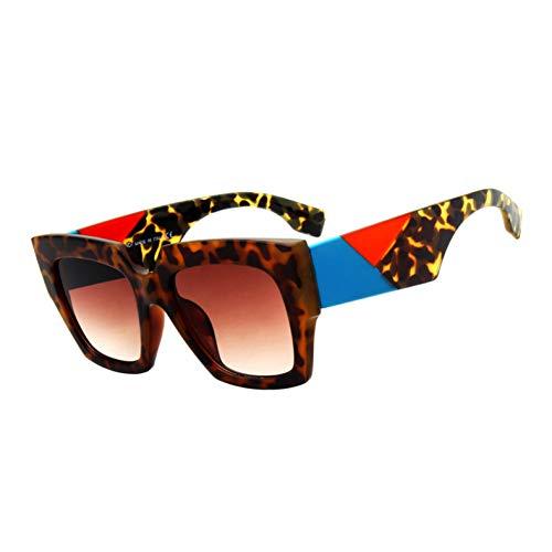 Kjwsbb Mode Sonnenbrillen Frauen VintageDesign PlatzSonnenbrilleBig Frame Shades Eyewear
