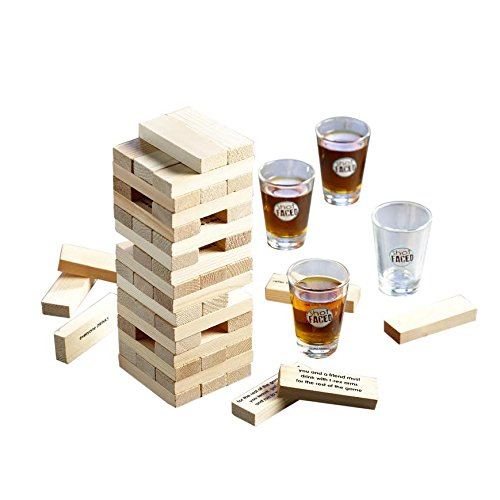 game-night-tipsy-tower-shot-glass-drinking-game-set-brown