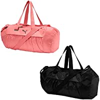 Puma AT Sports Duffle Bag, Mujer, Pomegranate/Gunmetal, OSFA