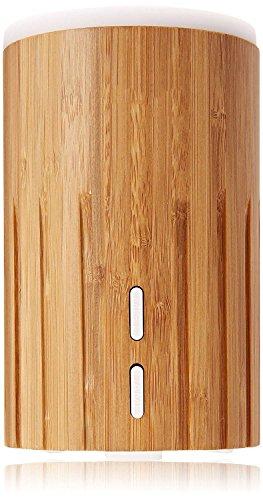 Echt Bambus Holz Aromatherapie Ätherisches Öl Diffusor Ultraschall Cool Nebel Luftbefeuchter Luft Luftreiniger, Öko Freundlich zum Zuhause Baby Büro Spa (100 ml)